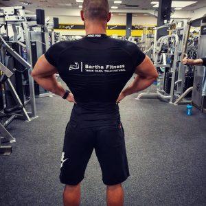 Bartha Fitness edző póló